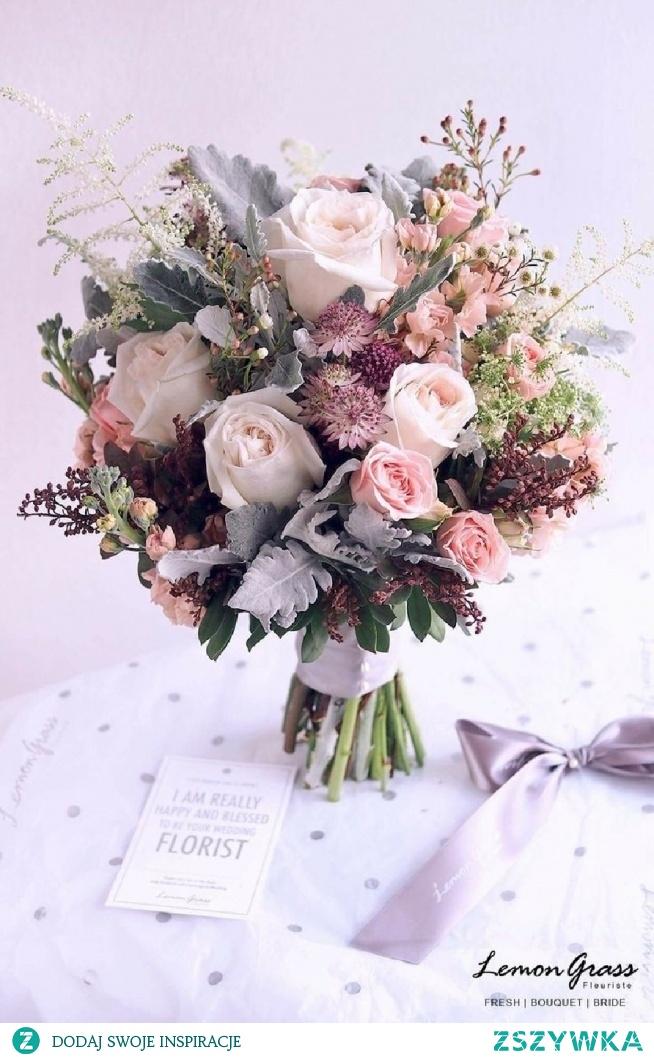 piękny bukiet ślubny;)