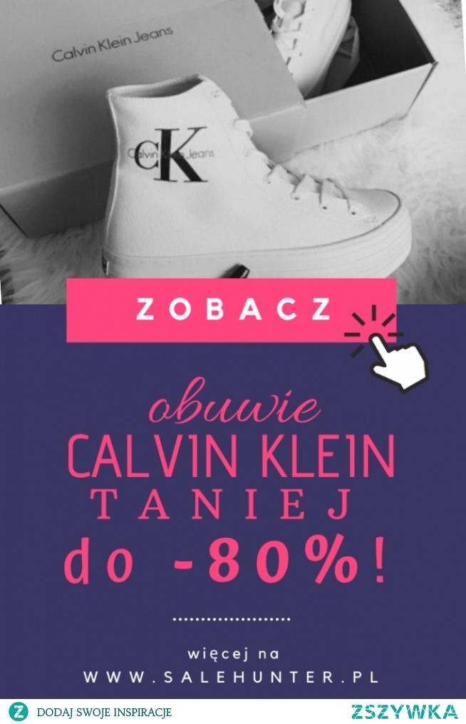 Właśnie trwa wielka promocja na obuwie od Calvina Kleina! Więcej informacji po kliknięciu w obrazek