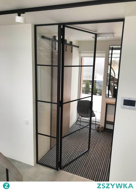 drzwi wewnetrzne ze szkla