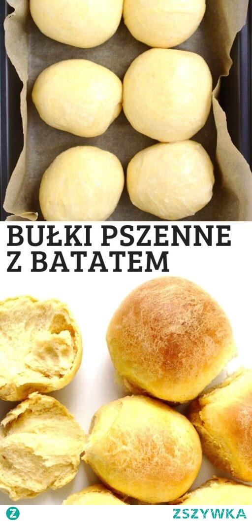Słodkie bułki pszenne z ziemniakami.