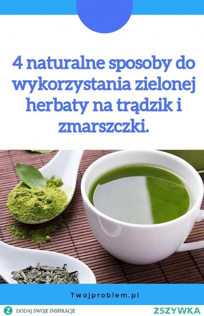 4 naturalne sposoby do wykorzystania zielonej herbaty na trądzik i zmarszczki.