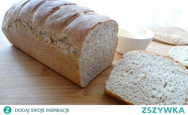 Pyszny domowy chleb. Fajny przepis na domowy chlebek na drożdżach wykonany z różnych rodzajów mąk. Chleb wychodzi bardzo delikatny z chrupiąca skórką. Przepis jest banalnie prosty i do wykonania w domowych warunkach, wiec polecam wszystkim.