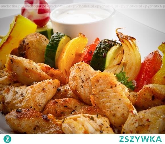 Duszony kurczak z warzywami