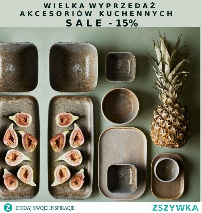 Promocja na akcesoria kuchenne,do 7 marca SALE -15 %