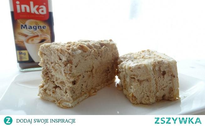 Ciasto Zimna Inka Bardzo pyszne ciasto na zimno z śmietaną kremówką, serkiem mascarpone i ziarnami pszenicy ekspandowanej. Smak uzupełnia nam aromatyczna kawa inka. Fajne ciasto na imprezy. Polubią je dzieci i dorośli. Zawsze pierwsze schodzi ze stołu