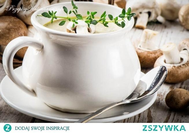 Zupa pieczarkowa Matyldy