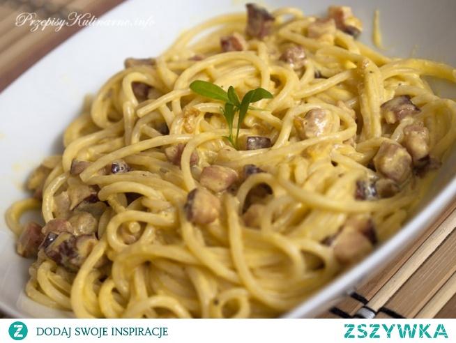 Spaghetti carbonara Natalii