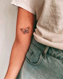 Butterfly tattoo ✨