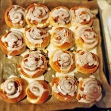 Cinnamon rolls! Zapraszam po przepis :)