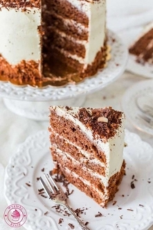 Tort czekoladowo-kawowy - N...