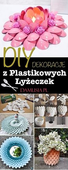 DIY Dekoracje z Plastikowyc...