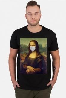 Koszulka Mona Lisa w maseczce