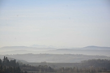 Widok na Tatry - majestat gór