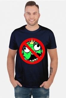 Koszulka wirus w koronie - koronawirus