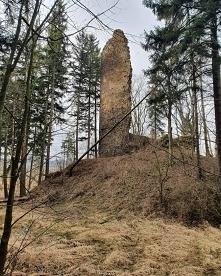 Ruiny zamku Lubno...