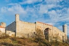 Zamek Toompea od strony Toompark