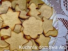 Kruche wykrawane ciasteczka