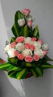 arreglo floral estilo redondo