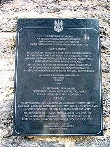 ORP Orzeł 18 9 39 uciekł bez map i broni z portu.17.9 każdego roku świętują to Estończycy