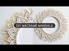 DIY Macramé Mandala Wall Hanging