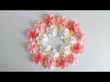 【折り紙・コピー用紙】簡単!かわいい花 ハッピーカラー...
