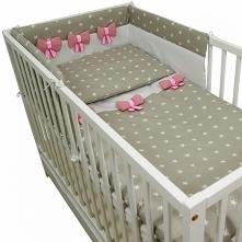beżowa pościel z ochraniaczem dla niemowlaka tylko teraz w tak atrakcyjnej cenie - koniecznie sprawdź!