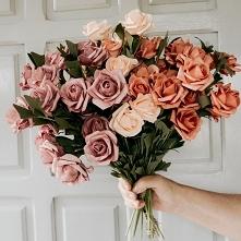 Cudowny bukiet róż <3