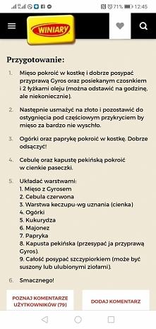 Pyszna Sałatka Gyros cz. 2