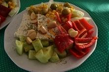 Świeże warzywa z arabskim s...