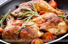 Udka kurczaka duszone w pom...