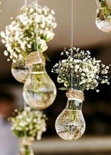 Pomysł na ślubną dekorację ...