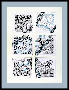 Inspirowane Zentangle