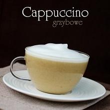 Cappuccino grzybowe