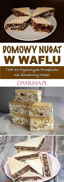 Domowy Nugat w Waflu – TOP ...