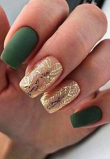 zielony # złoty