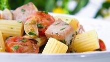 Rigatoni z tuńczykiem