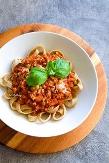 Gryczane spaghetti naleśnik...