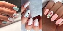 Piękne pastelowe paznokcie ...