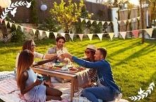 Wiosną uwielbiam spotkania z przyjaciółmi...szczególnie na świeżym powietrzu
