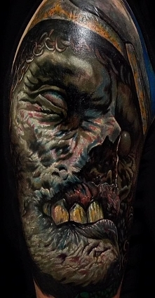 demon jak z horroru