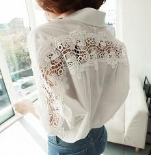Damska biała oversize koszula