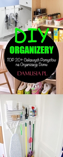 DIY Organizery – TOP 20+ Ci...