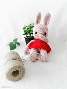 przesłodka maskotka królicz...