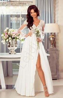 Modna suknia ślubna która s...