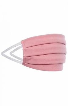 Maseczka ochronna dwuwarstwowa różowa