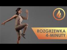 Rozgrzewka (4 min.) - ćwiczenia na początek treningu w domu