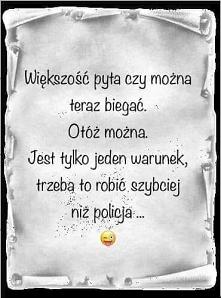 Znaczy można biegać :))))