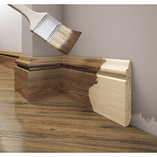 Drewniana listwa przypodłogowa LPC-22d Creativa jest doskonałym przykładem za...