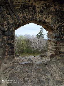 Cvilin, Czechy, ruiny zamku