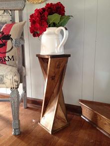 Drewniany stojak